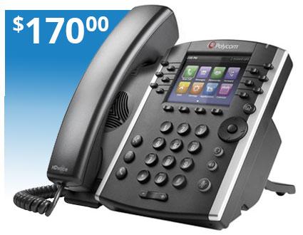 Polycom VVX 411 Phone System
