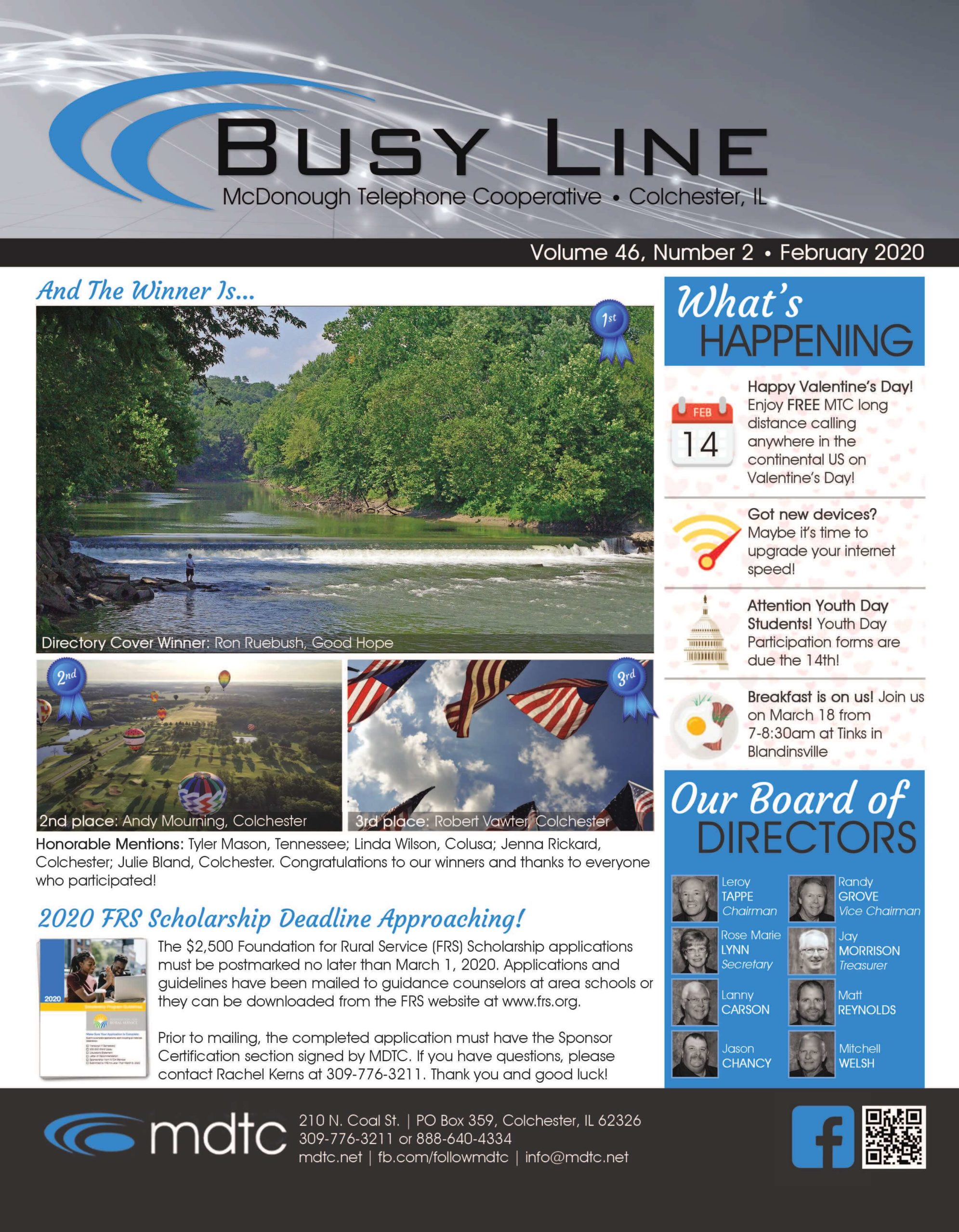 February Busy Line