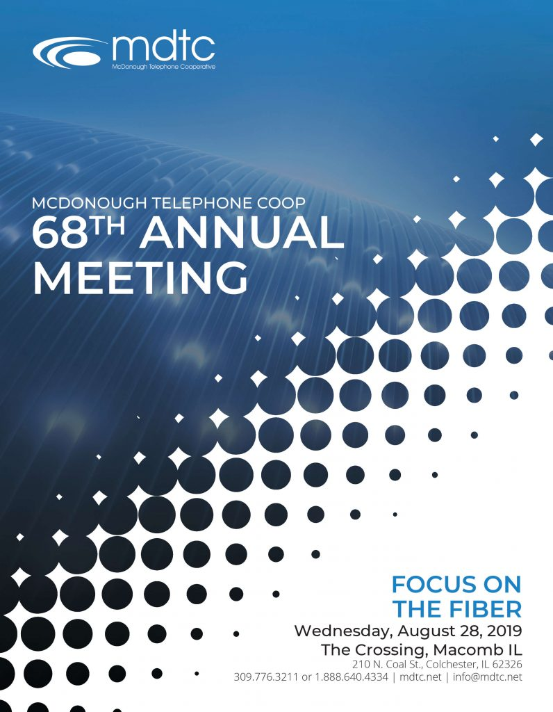 68 Annual Meeting Notice