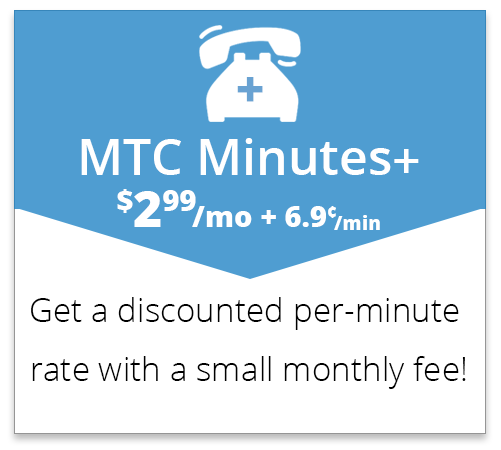 MTC Minutes Plus