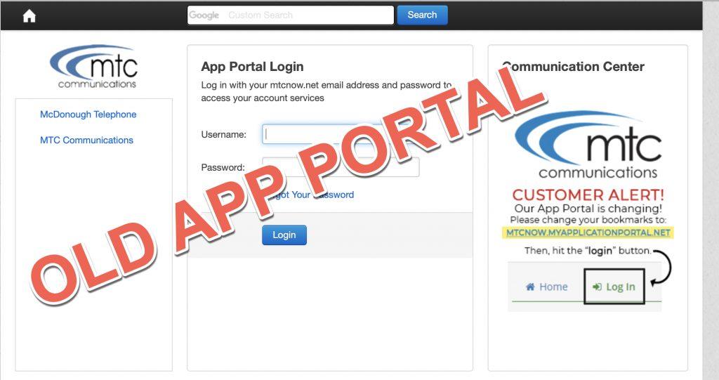 Old App Portal