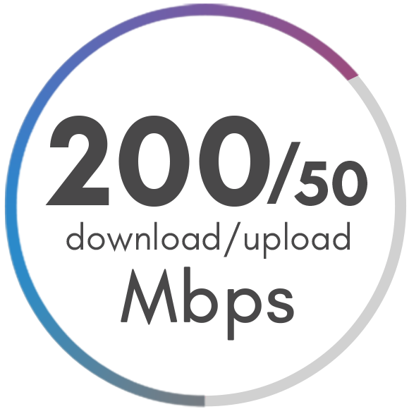 200 Mbps Package